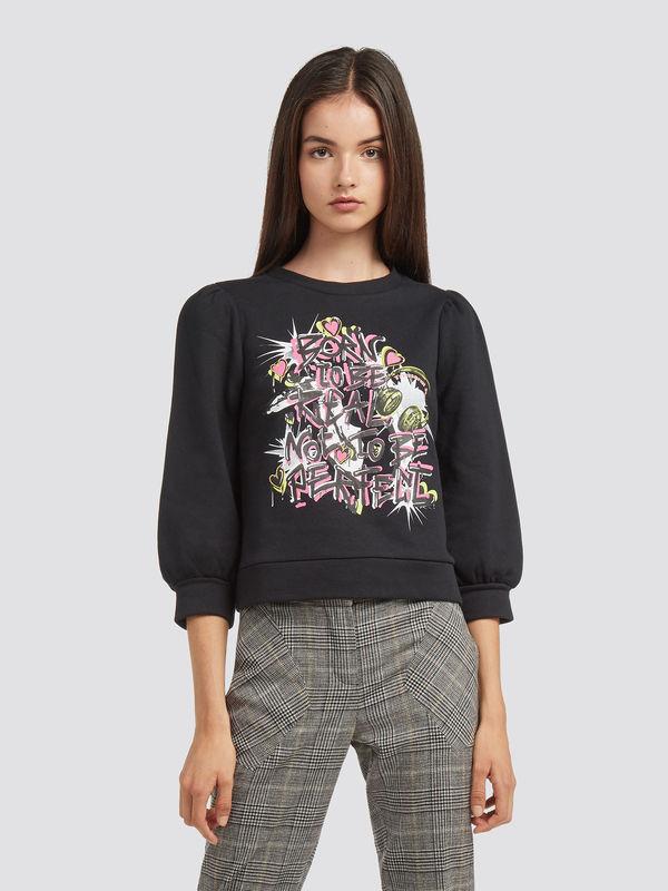 Cropped-melange-sweatshirt-with-lettering-print_TRUSSARDI-JEANS_50_01_8057735602735_F