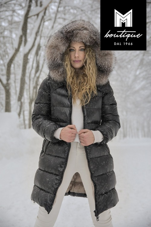 Isabel Down Quilted Coat for Woman